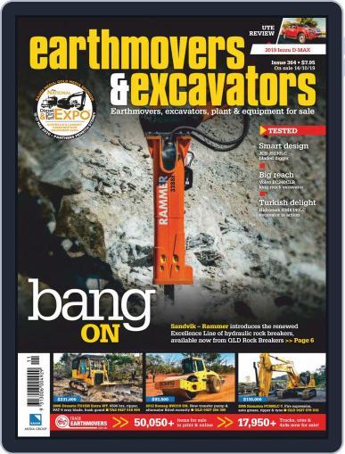 Earthmovers & Excavators (Digital) December 1st, 2019 Issue Cover