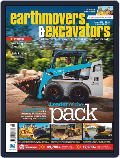 Earthmovers & Excavators September 1st, 2019 Digital Back Issue Cover