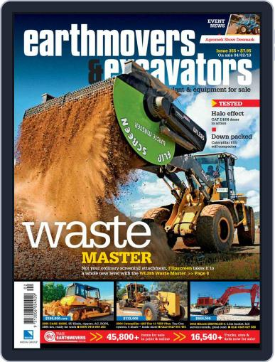 Earthmovers & Excavators (Digital) March 1st, 2019 Issue Cover