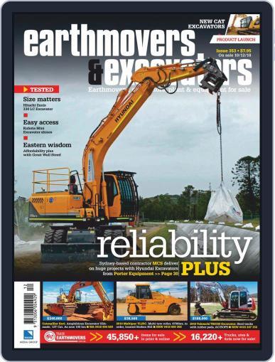 Earthmovers & Excavators (Digital) January 1st, 2019 Issue Cover