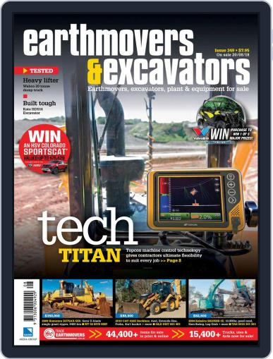 Earthmovers & Excavators October 1st, 2018 Digital Back Issue Cover