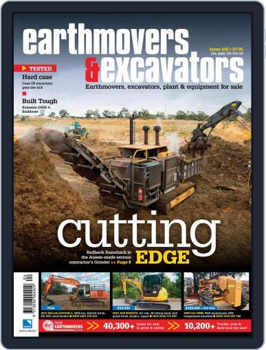 Earthmovers & Excavators June 1st, 2018 Digital Back Issue Cover