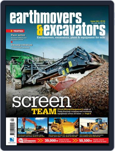 Earthmovers & Excavators (Digital) April 1st, 2018 Issue Cover