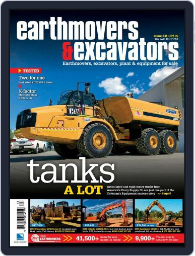 Earthmovers & Excavators February 1st, 2018 Digital Back Issue Cover