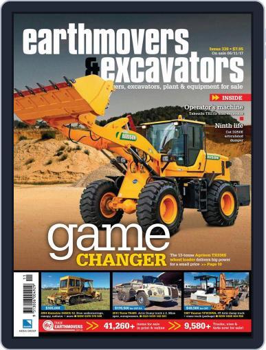 Earthmovers & Excavators (Digital) December 1st, 2017 Issue Cover