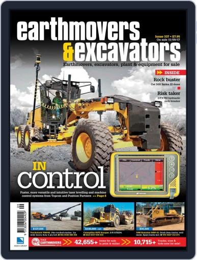 Earthmovers & Excavators (Digital) October 1st, 2017 Issue Cover