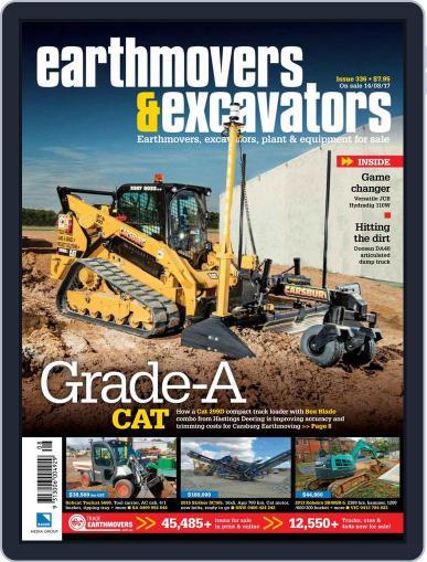 Earthmovers & Excavators (Digital) September 1st, 2017 Issue Cover