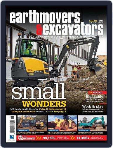 Earthmovers & Excavators November 1st, 2016 Digital Back Issue Cover