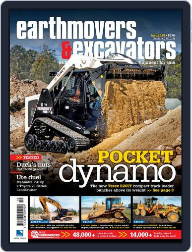 Earthmovers & Excavators (Digital) October 1st, 2016 Issue Cover