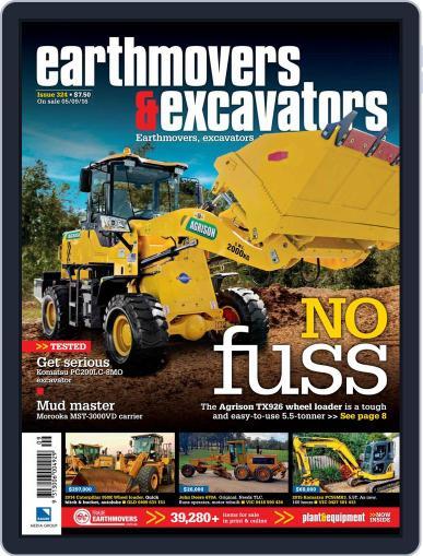 Earthmovers & Excavators (Digital) September 1st, 2016 Issue Cover