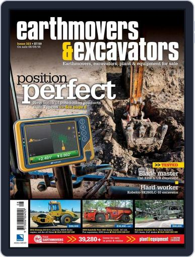 Earthmovers & Excavators August 7th, 2016 Digital Back Issue Cover