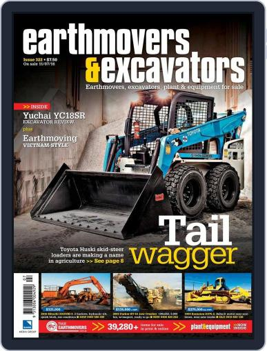 Earthmovers & Excavators July 10th, 2016 Digital Back Issue Cover