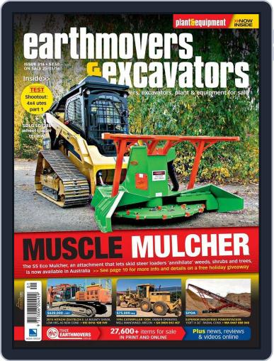Earthmovers & Excavators (Digital) January 24th, 2016 Issue Cover