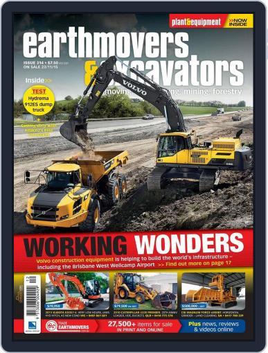 Earthmovers & Excavators (Digital) November 23rd, 2015 Issue Cover