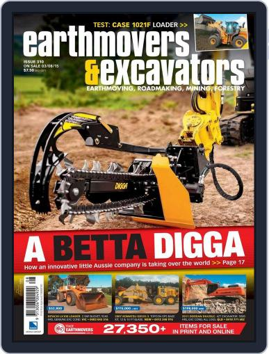 Earthmovers & Excavators (Digital) August 2nd, 2015 Issue Cover