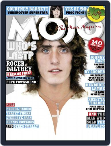 MOJO (Digital) May 1st, 2018 Issue Cover