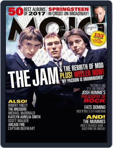 MOJO (Digital) January 1st, 2018 Issue Cover