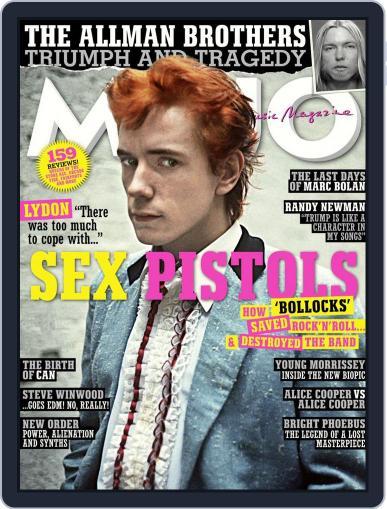 MOJO (Digital) September 1st, 2017 Issue Cover