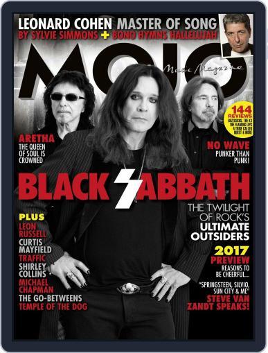 MOJO (Digital) February 1st, 2017 Issue Cover