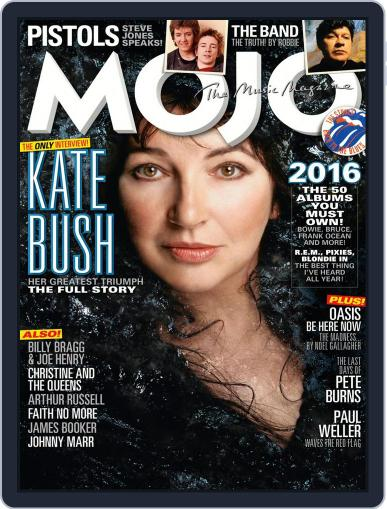 MOJO (Digital) January 1st, 2017 Issue Cover