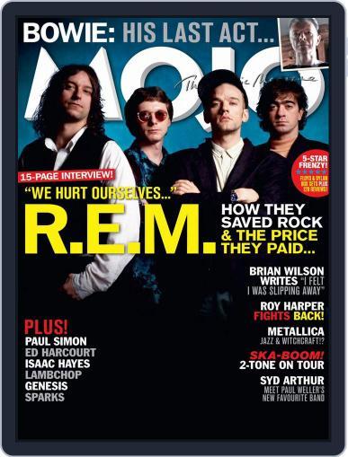MOJO (Digital) December 1st, 2016 Issue Cover
