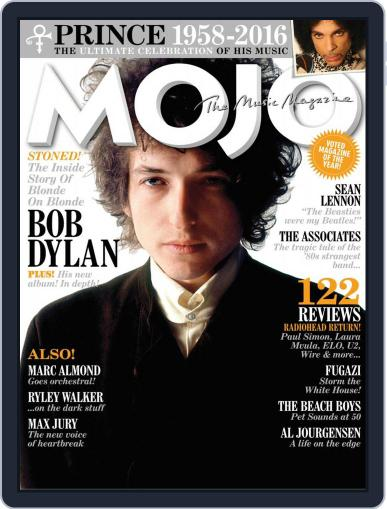 MOJO (Digital) May 24th, 2016 Issue Cover