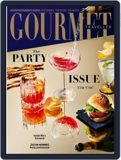 Gourmet Traveller (Digital) November 1st, 2019 Issue Cover