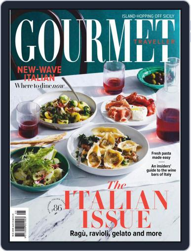 Gourmet Traveller May 1st, 2019 Digital Back Issue Cover