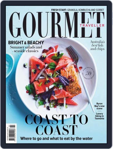 Gourmet Traveller January 1st, 2019 Digital Back Issue Cover