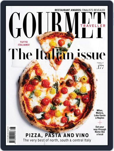 Gourmet Traveller (Digital) August 1st, 2018 Issue Cover