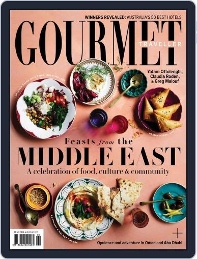 Gourmet Traveller June 1st, 2018 Digital Back Issue Cover