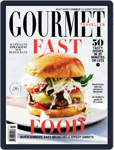 Gourmet Traveller (Digital) March 1st, 2018 Issue Cover