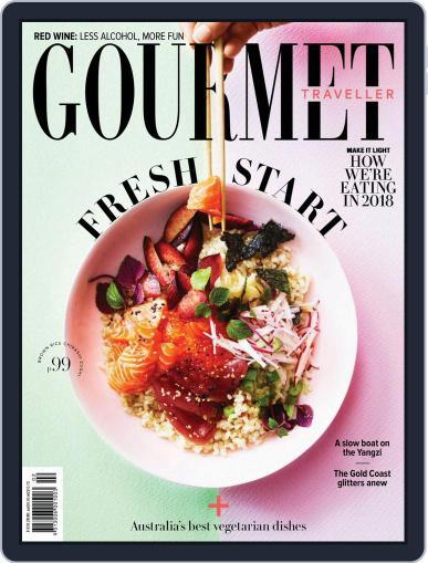 Gourmet Traveller (Digital) February 1st, 2018 Issue Cover