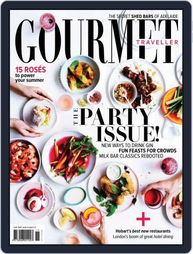 Gourmet Traveller (Digital) November 1st, 2017 Issue Cover