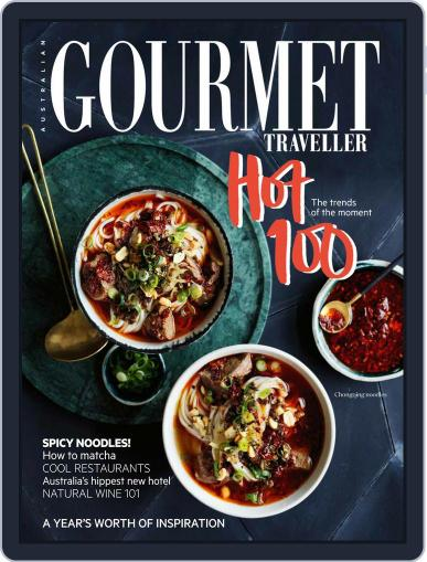 Gourmet Traveller (Digital) May 1st, 2017 Issue Cover
