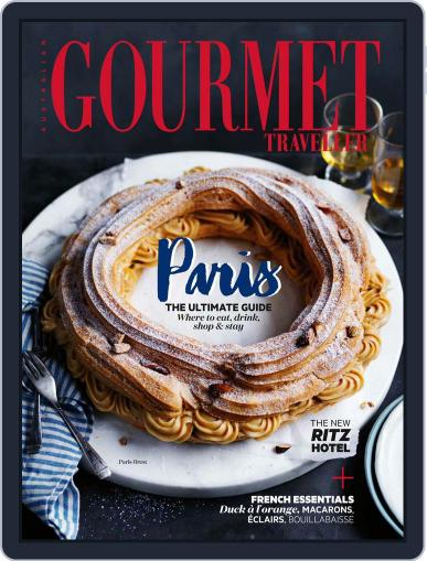 Gourmet Traveller October 1st, 2016 Digital Back Issue Cover