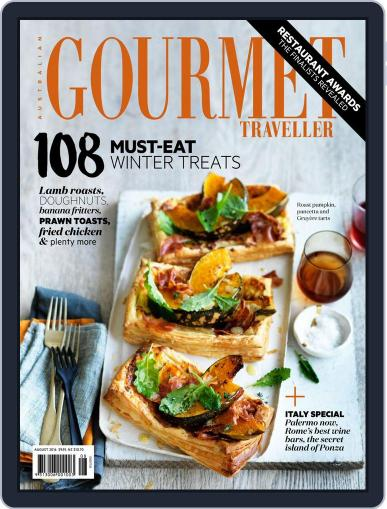 Gourmet Traveller (Digital) August 1st, 2016 Issue Cover