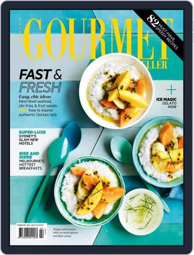 Gourmet Traveller (Digital) January 24th, 2016 Issue Cover