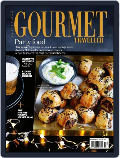 Gourmet Traveller (Digital) October 25th, 2015 Issue Cover