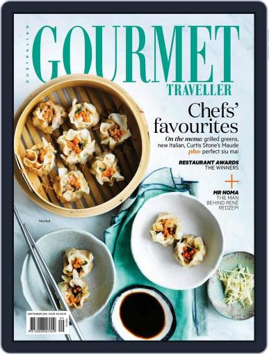 Gourmet Traveller August 14th, 2015 Digital Back Issue Cover