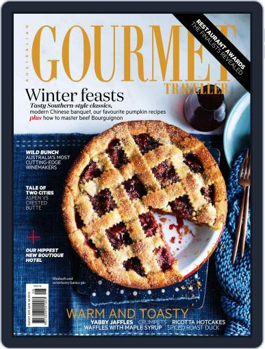 Gourmet Traveller August 1st, 2015 Digital Back Issue Cover