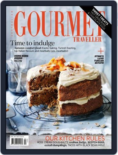 Gourmet Traveller March 22nd, 2015 Digital Back Issue Cover