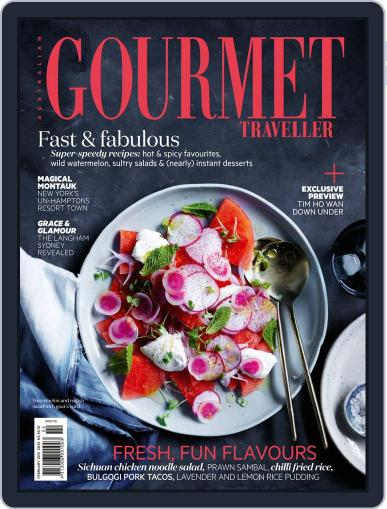 Gourmet Traveller (Digital) January 31st, 2015 Issue Cover