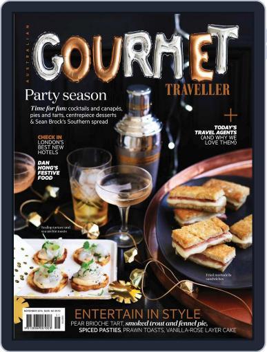 Gourmet Traveller (Digital) October 26th, 2014 Issue Cover