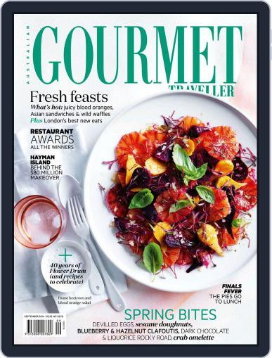 Gourmet Traveller August 17th, 2014 Digital Back Issue Cover