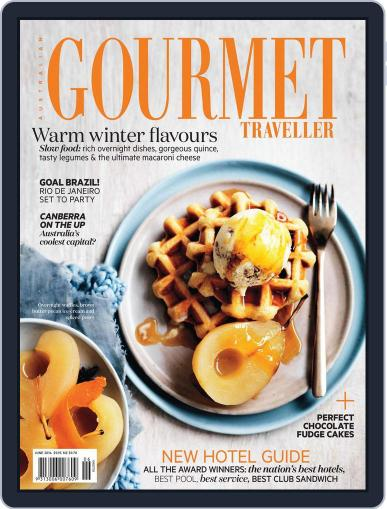 Gourmet Traveller (Digital) May 25th, 2014 Issue Cover