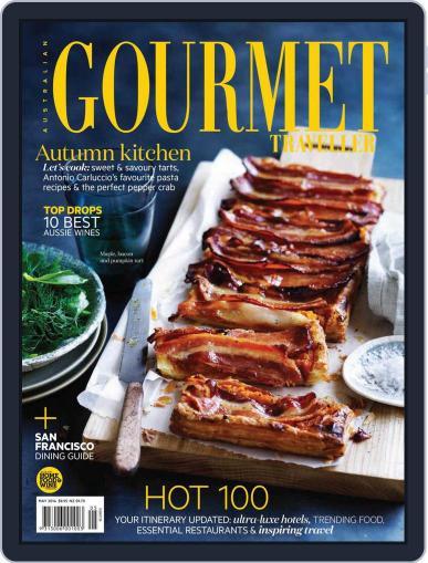 Gourmet Traveller April 27th, 2014 Digital Back Issue Cover