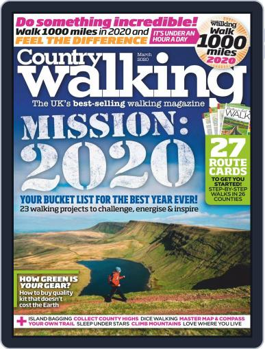 Country Walking March 1st, 2020 Digital Back Issue Cover