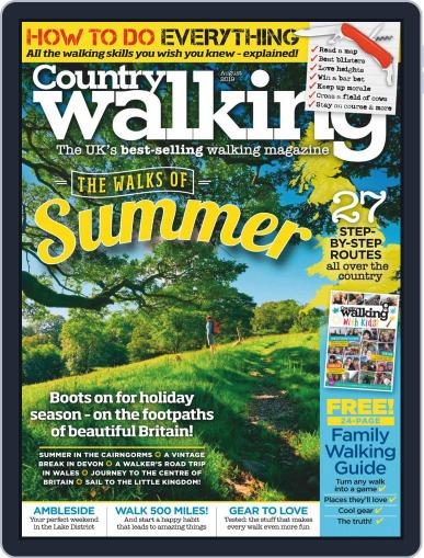 Country Walking August 1st, 2019 Digital Back Issue Cover