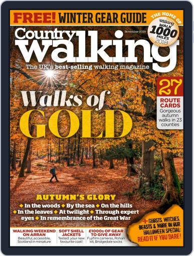 Country Walking (Digital) November 1st, 2018 Issue Cover